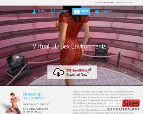 This is 3D Sex Villa2
