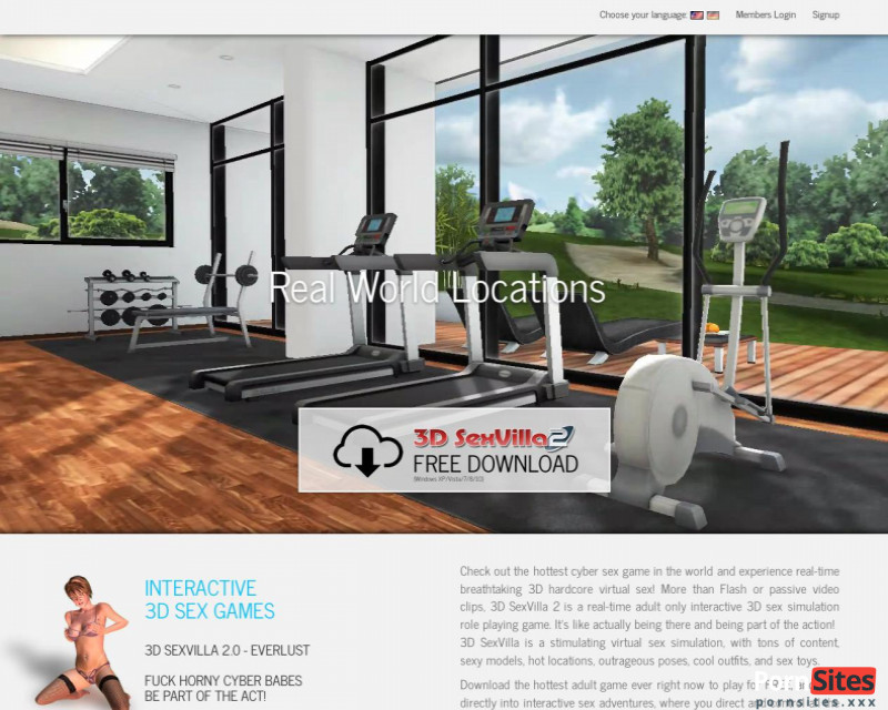 Sito web 3D Sex Villa2 da 24. gennaio 2021