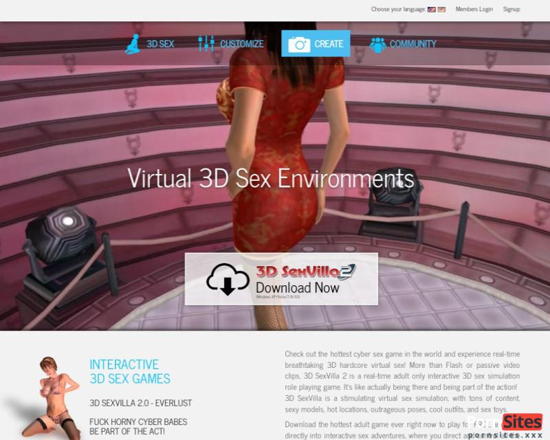 3D Sex Villa2 Website From 23. June 2021