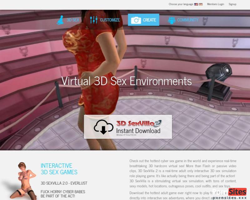 3D Sex Villa2 Website From  3. August 2021