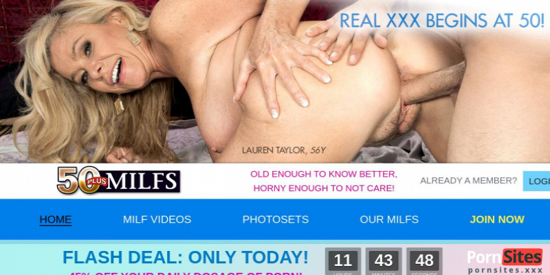 Screenshot 50Plus MILFs