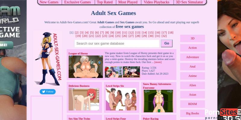 Screenshot Adult Sex Games