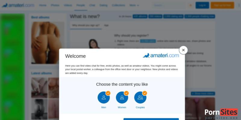 Screenshot Amateri