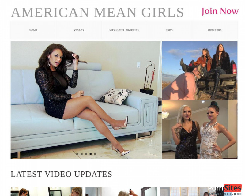American Mean Girls Website From  4. August 2021