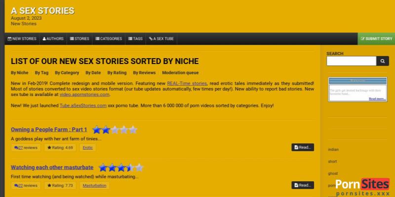 Screenshot A Sex Stories