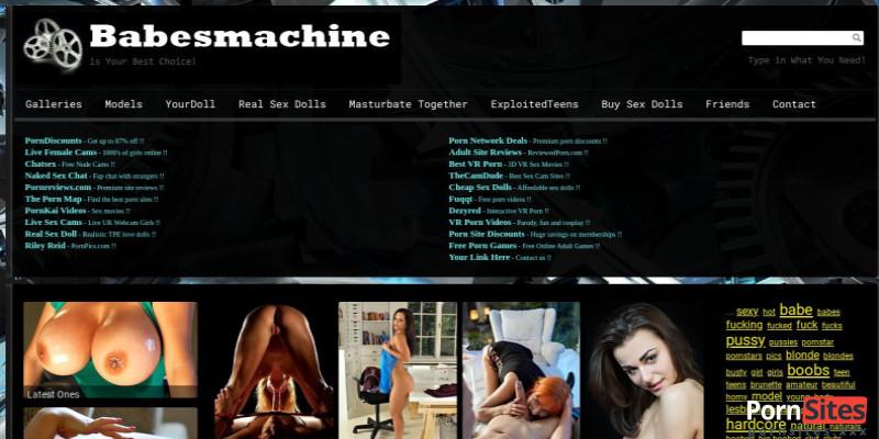 Screenshot Babes Machine