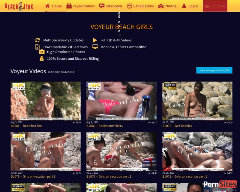 BeachJerk Website From 24. January 2021