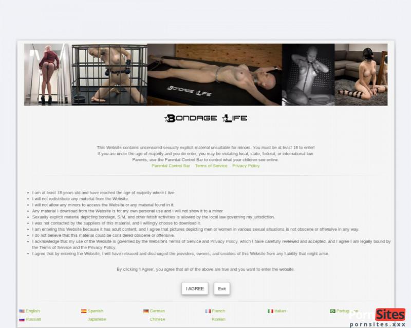 Bondage Life Website From 24. January 2021
