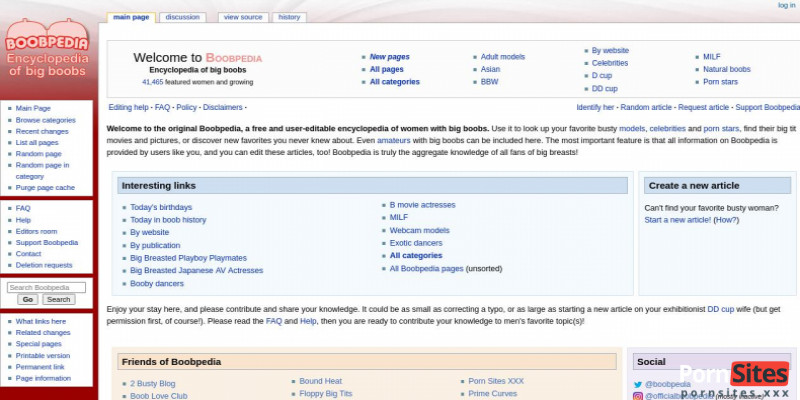 Screenshot Boobpedia