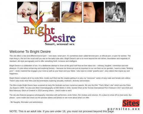 This is Bright Desire