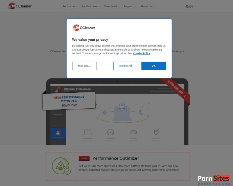 Screenshot CCleaner