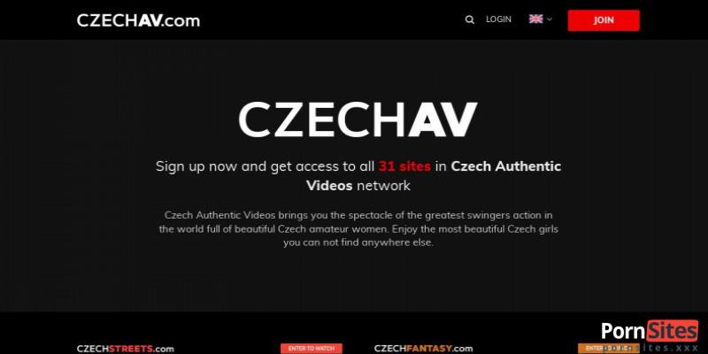 Screenshot CzechAV