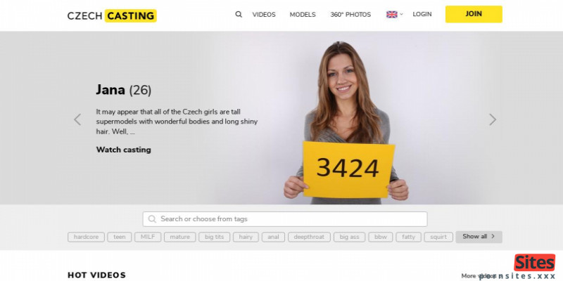 Screenshot Czech Casting