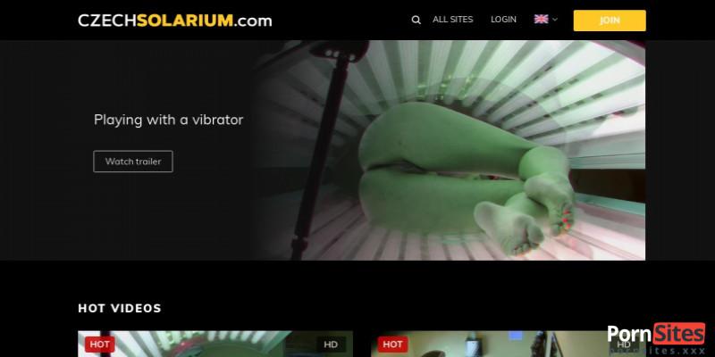 Screenshot Czech Solarium