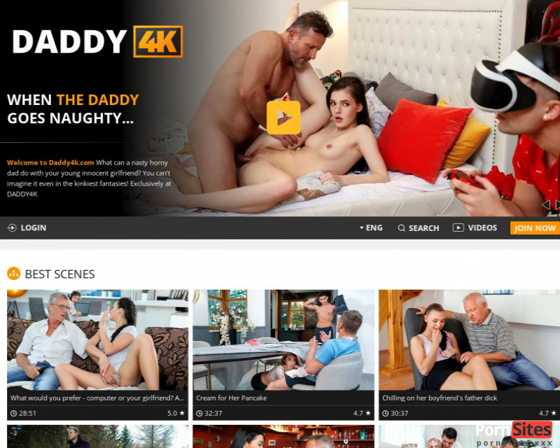 Daddy4K Website From 19. January 2021