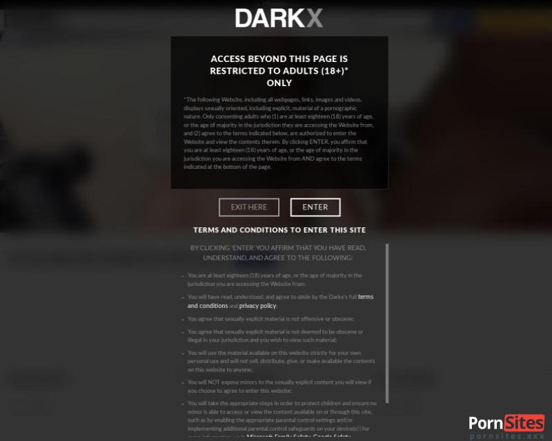 DarkX Website From 23. February 2021