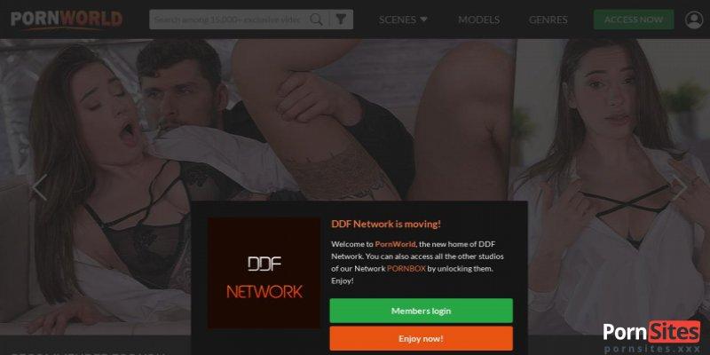 Screenshot DDF Network