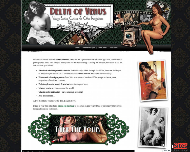 Delta of Venus Website From 10. June 2021