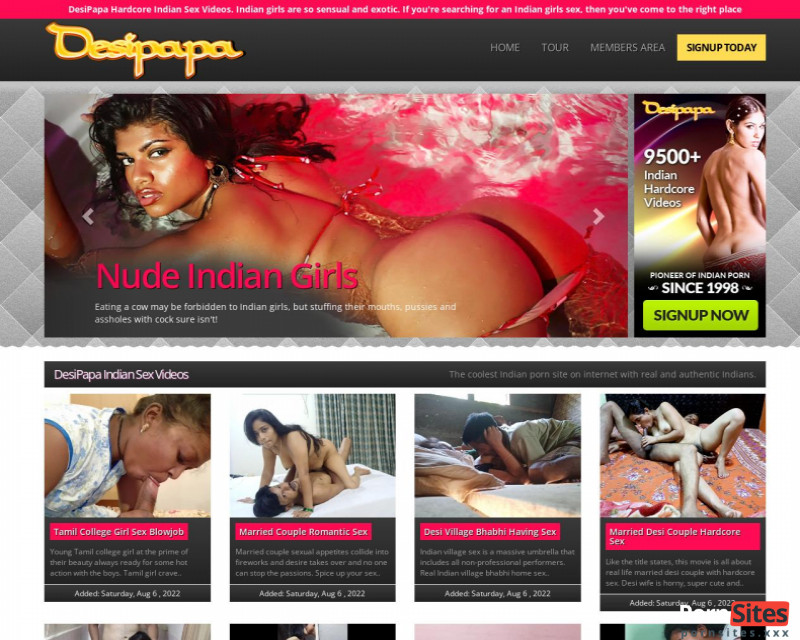 Desi Papa Website From  2. December 2020