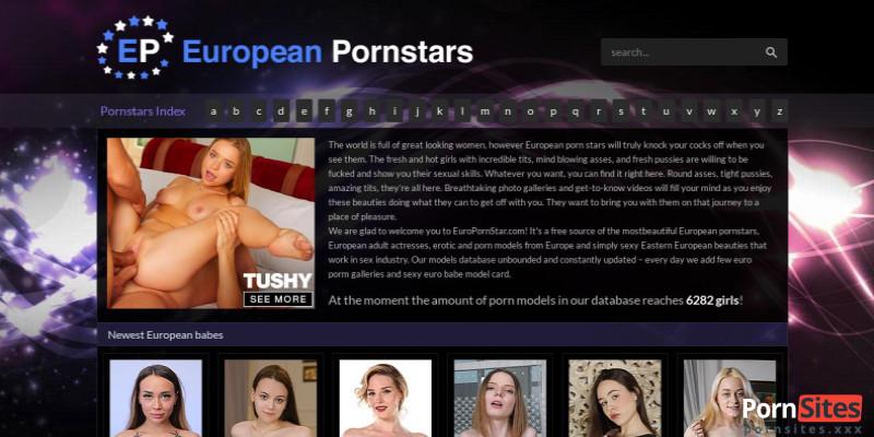 Screenshot European Pornstars