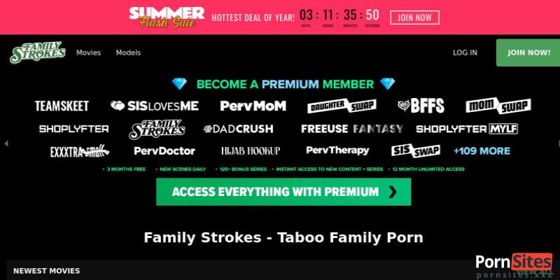 Screenshot Family Strokes