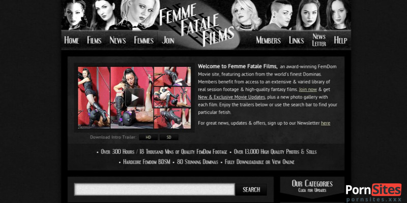 Screenshot Femme Fatale Films