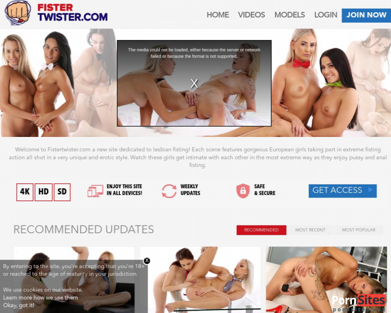 FisterTwister Website From 24. February 2021