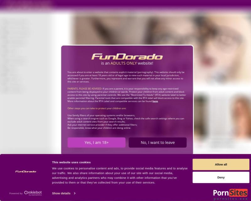 Fundorado Website From  1. March 2021