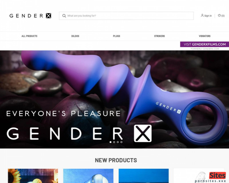 GenderX Website From  4. March 2021