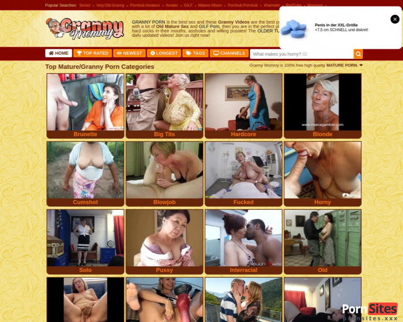 Granny Mommy Website From 16. January 2021