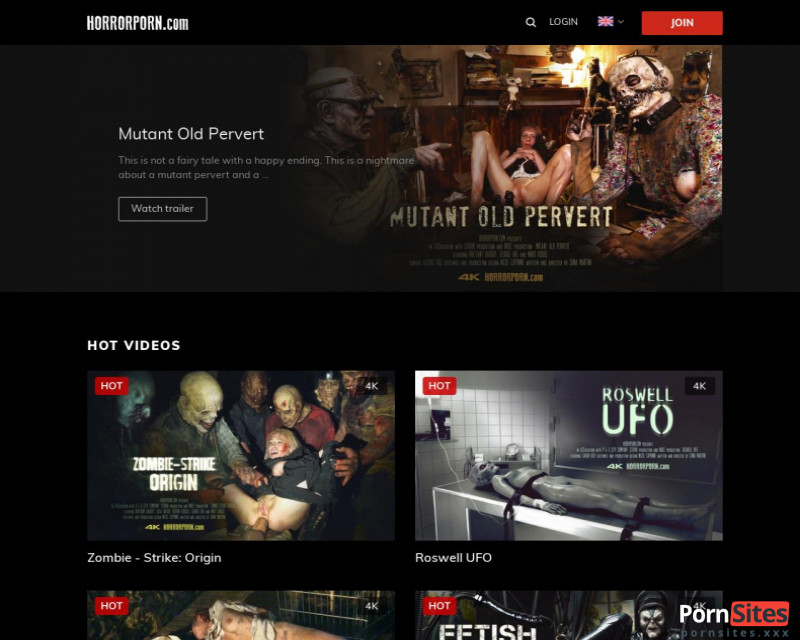 Horror Porn Website From  1. March 2021