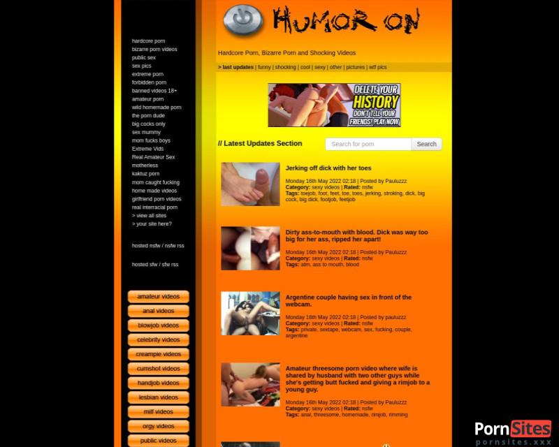 HumorOn Sitio web de 24. febrero 2021