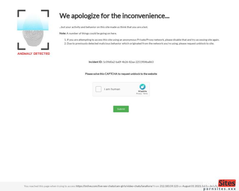 ImLive Веб-сайт от  3. Март 2021