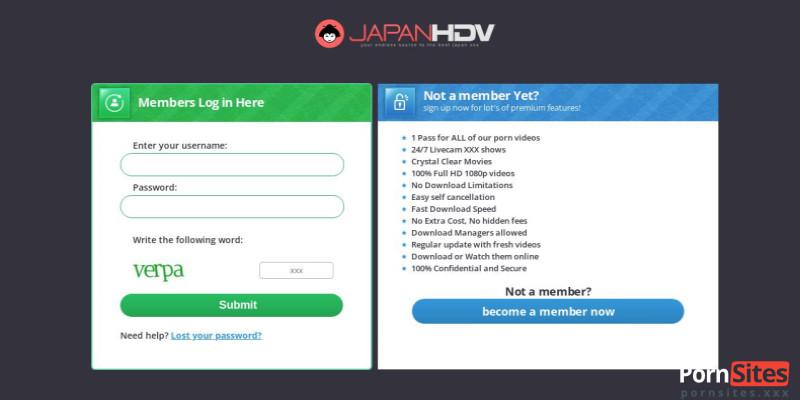 Screenshot JapanHDV