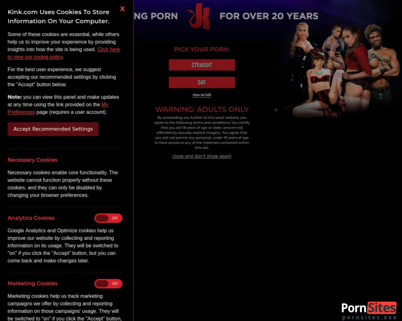 Kink Website From 27. February 2021