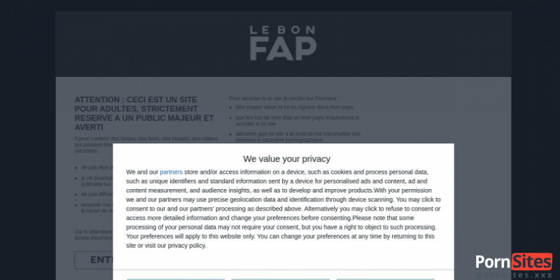 Screenshot Le Bon Fap