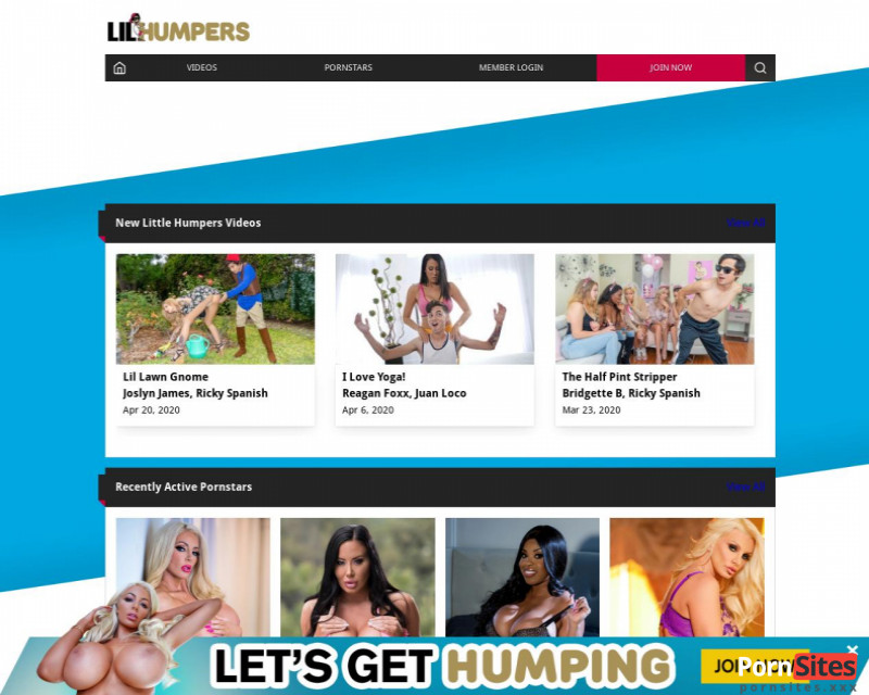 LilHumpers Website From 20. January 2021