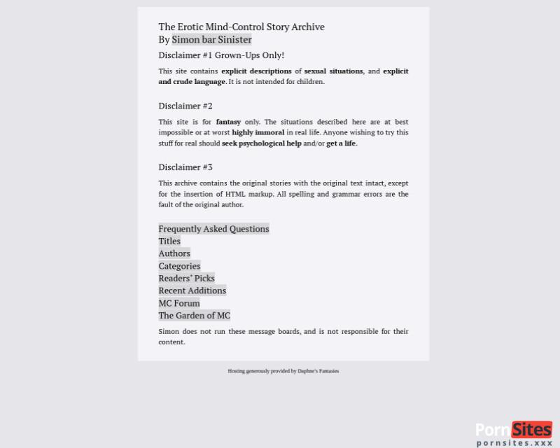 Screenshot MCStories