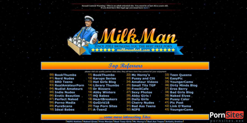 Screenshot Milkmans Book