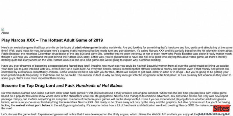 Screenshot NarcosXXX