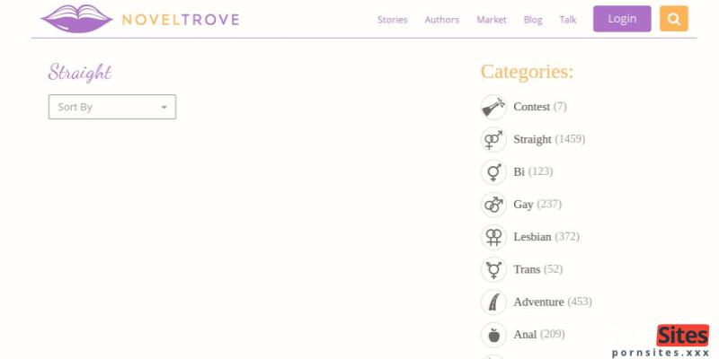 Screenshot Noveltrove
