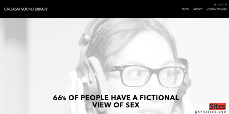 Screenshot Orgasm Sound Library