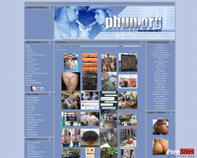 Site Web Phun de  4. mars 2021