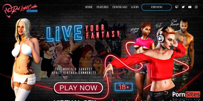 Screenshot Redlight Center