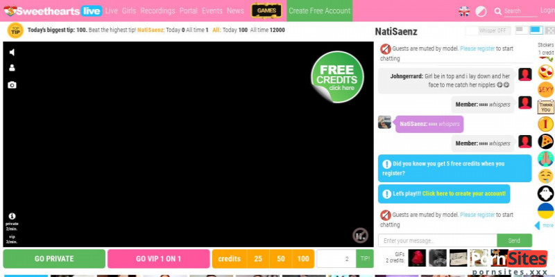 Screenshot Seventeen Live