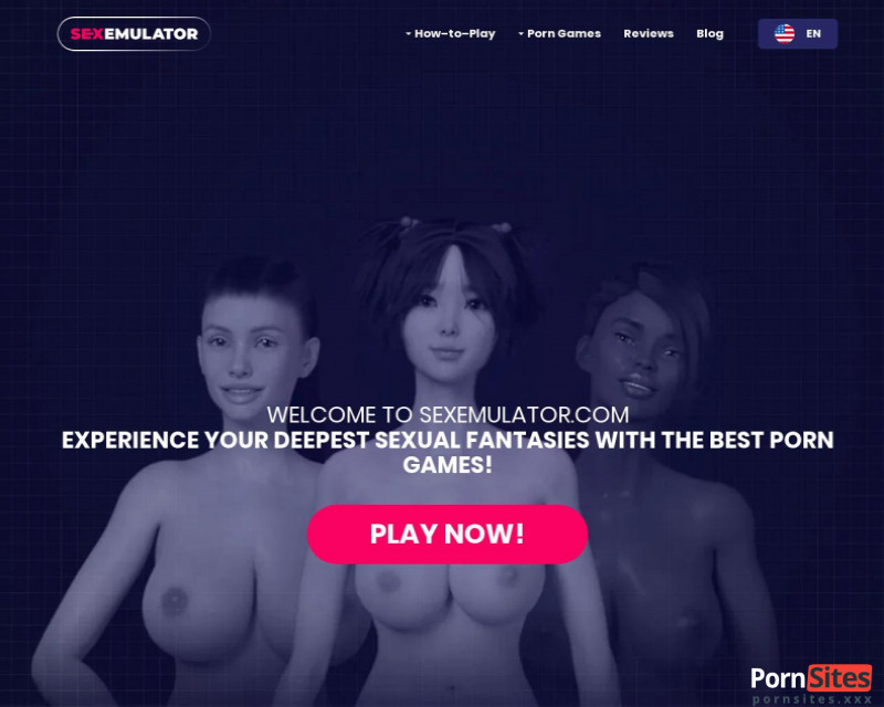 SexEmulator Website From 16. January 2021