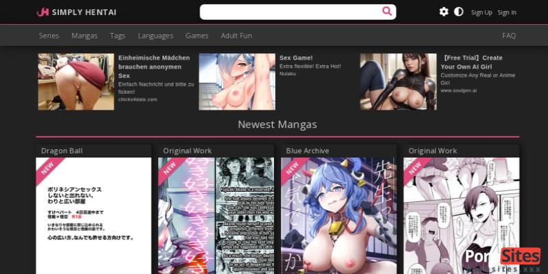 Screenshot Simply Hentai