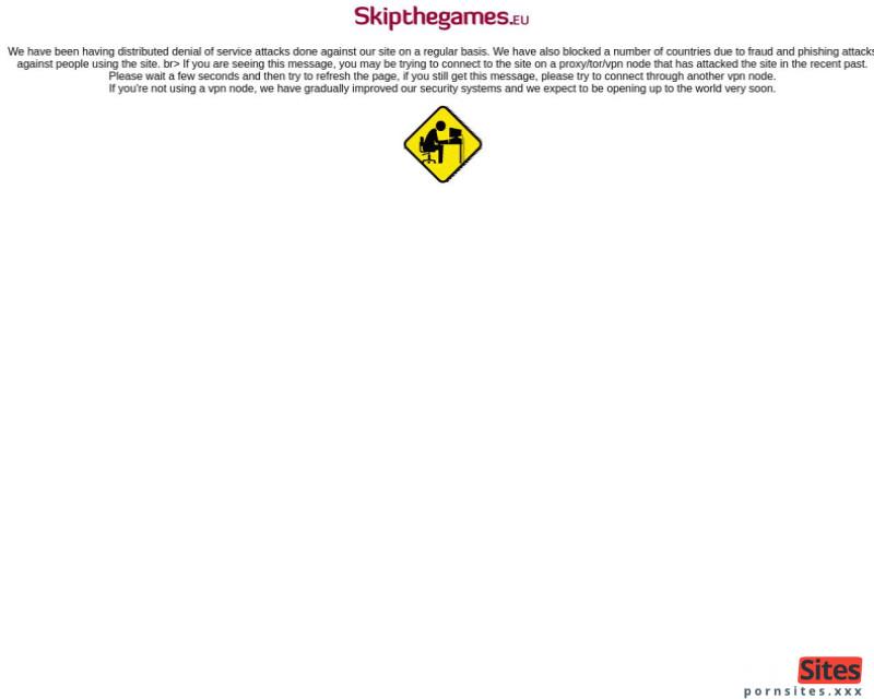 SkipTheGames Website From 24. January 2021
