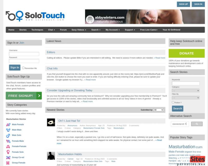 Screenshot Solotouch