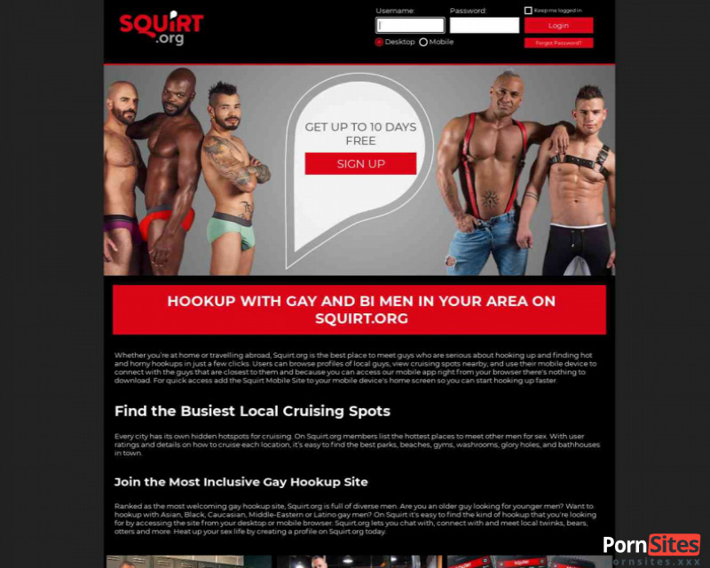 Squirt Website From 20. January 2021